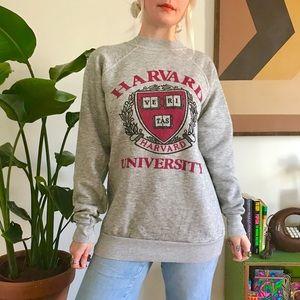 Vintage 80s Harvard University unisex sweatshirt L
